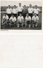 Elftallen 1e klassers en Ned. elftal 1956